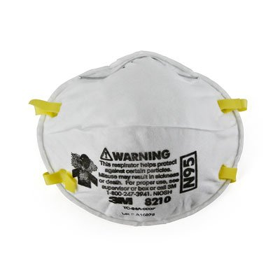 3M™ 8210 Series N95 Particulate Respirator 70070614394