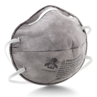 3M™ 8247 R95 Particulate Respirator with Nuisance Level Organic Vapor Reflief 8247