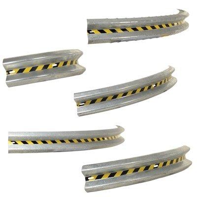 90° Curved Guard Rails