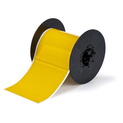 Brady B30C-4000-584-YL B30 Series Label - Yellow