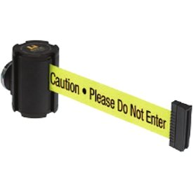 Beltrac® Magnetic Wallmount Retractable Belts - Caution Please Do Not Enter