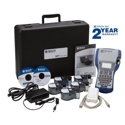 Brady BMP41 Label Printer Electrical Starter Kit