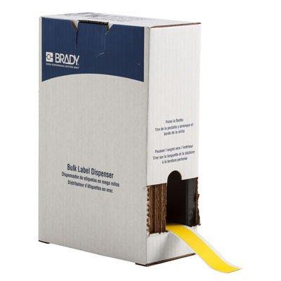 Brady BM71C-1000-854-YL BMP71 Label - Yellow