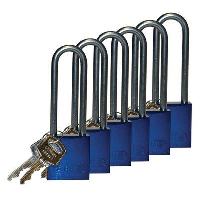 Brady® Aluminum 3 Shackle Padlocks