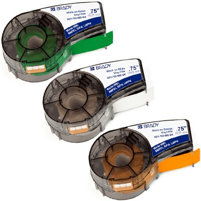 Brady® BMP®21-PLUS Label and Ribbon Supplies - Label Cartridges