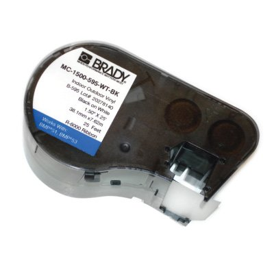 Brady M-119-461 BMP53/BMP51 Label Cartridge - White