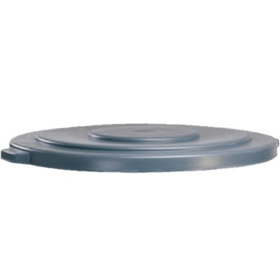 Rubbermaid® Brute Round 55 Gallon Gray Container and Lid 2654-G