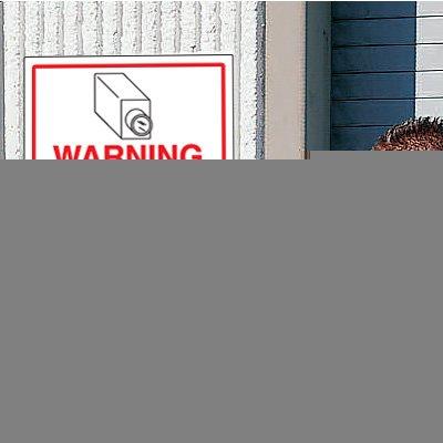 CCTV Warning Signs - Area Monitored