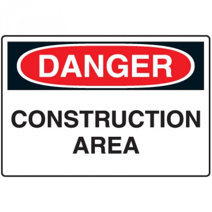 Construction Safety Signs - Construction Area