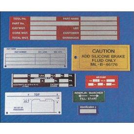 Custom Anodized-Aluminum Nameplates