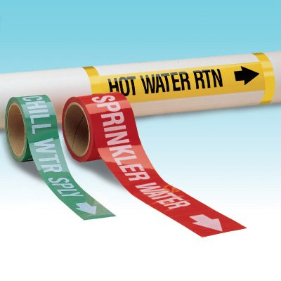 Custom Roll-Form Pipe Markers