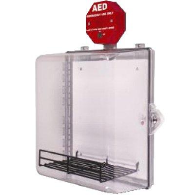 Enclosed Defibrillator AED Cabinet With Alarm