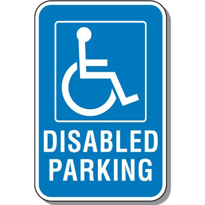 Disabled Parking Signs - Disabled Parking