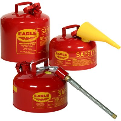 Eagle Type I & II Safety Cans