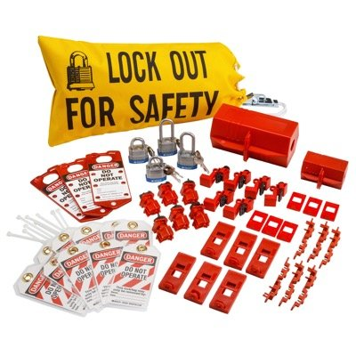Brady Electrical Lockout Starter Kit - Part Number - 65777 - 1/Each