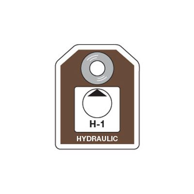 Energy Source ID Tags - Hydraulic