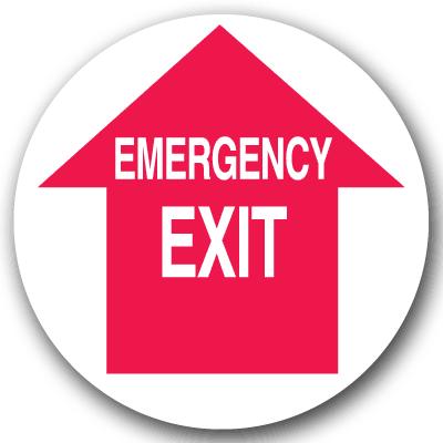 Emergency Floor Markers - Emergency Exit