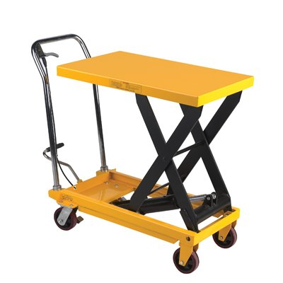 Fixed Handle Scissor Lift Table