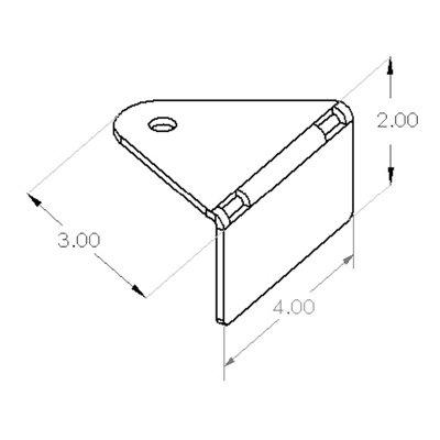 Forklift Spotter™ Universal Bracket Kit