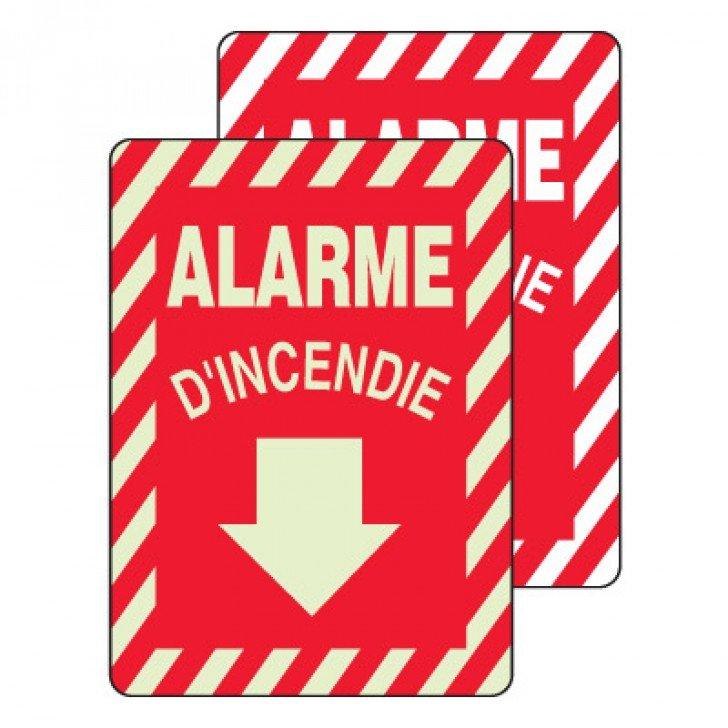 Enseignes d'Équipements Contre les Incendies et de Sortie - Alarme D'Incendie