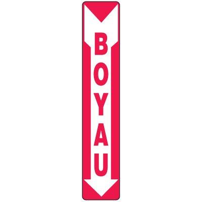 Enseignes De Sortie D'Incendie - Boyau (Flèche)
