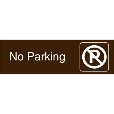Graphic Architectural Signs - No Parking