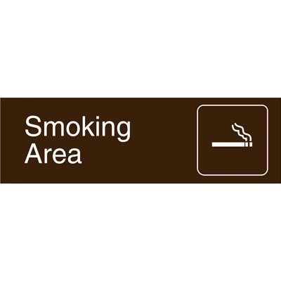 Graphic Architectural Signs - Smoking