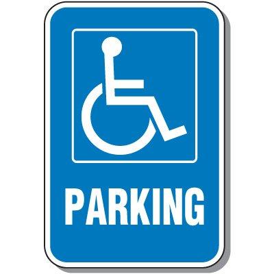 Handicap Signs - Parking (Symbol of Access)