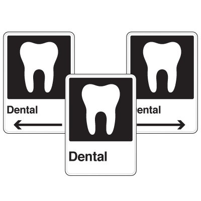 Health Care Facility Wayfinding Signs - Dental