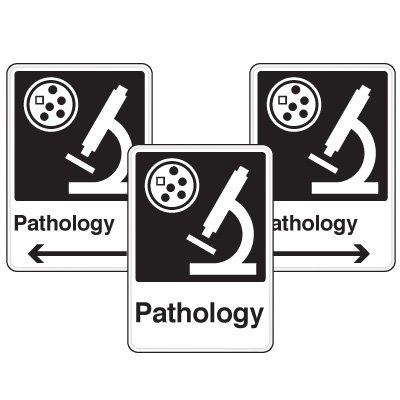 Health Care Facility Wayfinding Signs - Pathology