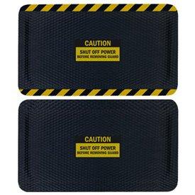 Hog Heaven Safety Message Anti-Fatigue Mats - Caution Shut Off Power