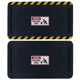 Hog Heaven Safety Message Anti-Fatigue Mats - Danger Welding Area