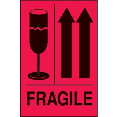International Shipping Labels- Fragile