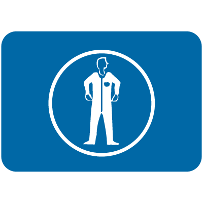 International Symbols Signs - Wear Protective Clothing