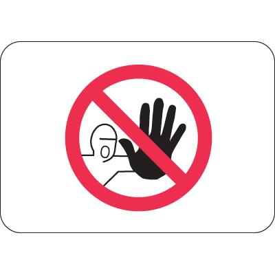 International Symbols Signs - No Admittance
