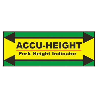 IRONguard Accu-Height Fork Height Indicator
