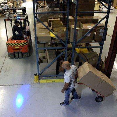 IRONguard™ Safe-Lite Forklift Warning Safety Spotlight