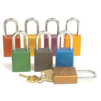 American Lock&trade Keyed Differently Padlocks