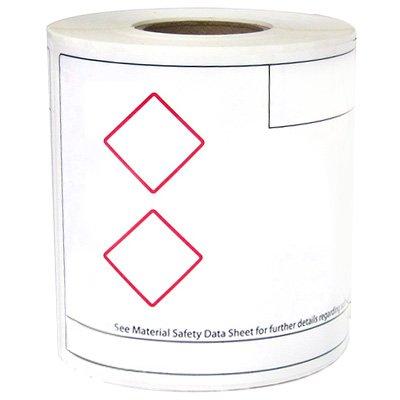 LabelTac® GHS Die-Cut Regulatory Printer Labels
