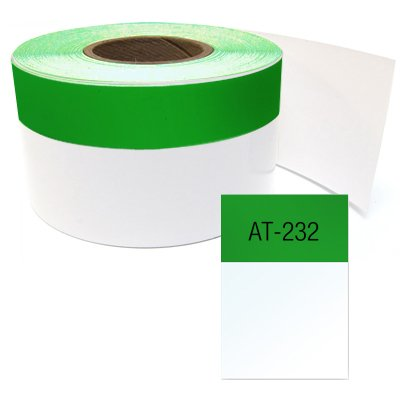 LabelTac® Printable Wire Wraps - Green - 1 W x 70' L