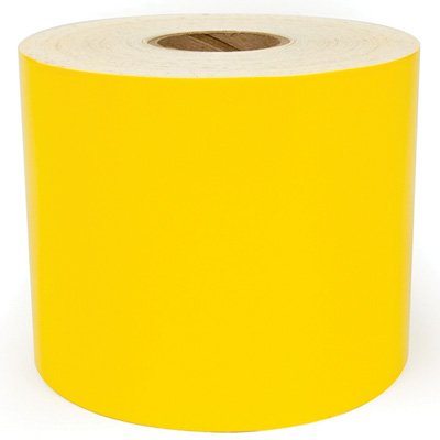 LabelTac® LT201HT High Temperature Printer Labels - Yellow