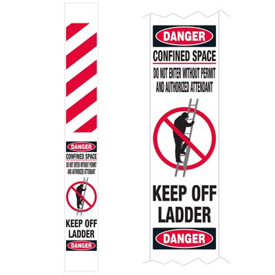 Ladder Guard - Danger Confined Space