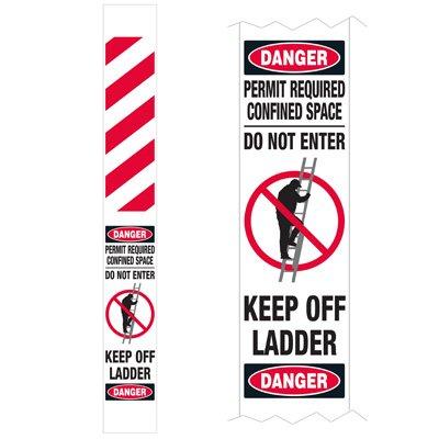 Ladder Guard - Danger Permit Required