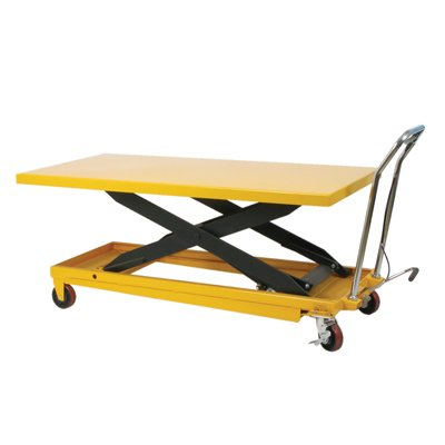 Long Deck Scissor Lift Table