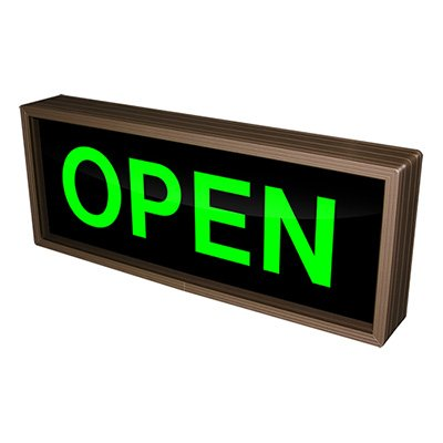 Open Backlit LED Sign