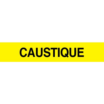 Opti-Code™ Pipe Markers - Caustique