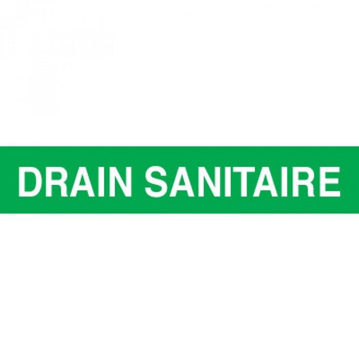 Opti-Code™ Pipe Markers - Drain Sanitaire