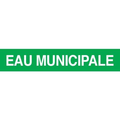 Opti-Code™ Pipe Markers - Eau Municipale