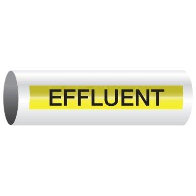 Opti-Code™ Self-Adhesive Pipe Markers - Effluent