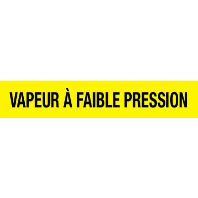Opti-Code™ Pipe Markers - Vapeur À Faible Pression